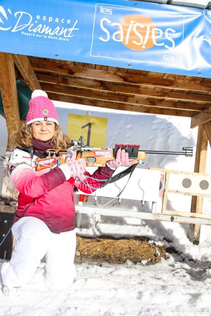 Les Saisies ou le ski en pleine nature. Que faire aux Saisies ? Activités outdoor et bonnes adresses. Biathlon Les Saisies