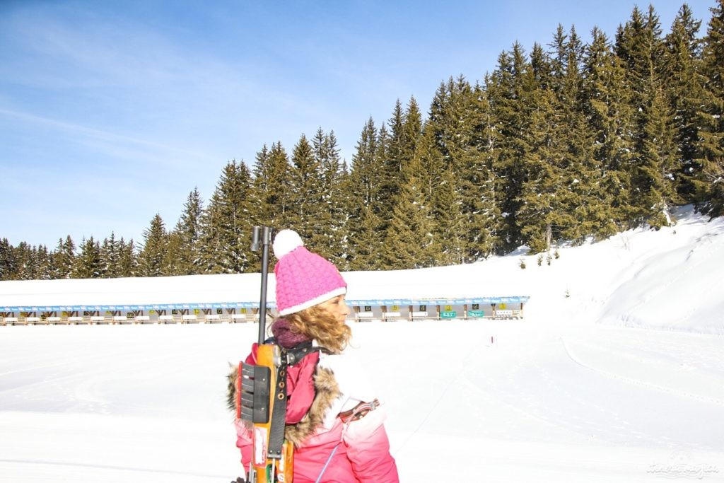 Les Saisies ou le ski en pleine nature. Que faire aux Saisies ? Activités outdoor et bonnes adresses . Biathlon aux Saisies