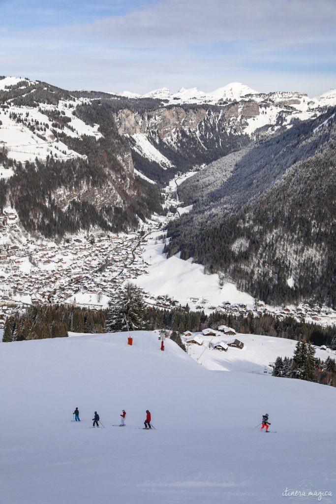 stations de ski familiales dans les montagnes françaises