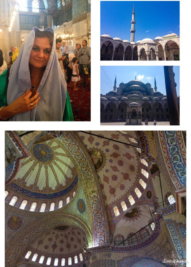Mosquée bleue d'Istanbul. Palerme, Séville, Istanbul : trois destinations sublimes où les cultures se mélangent, pour un voyage qui ouvre les yeux.