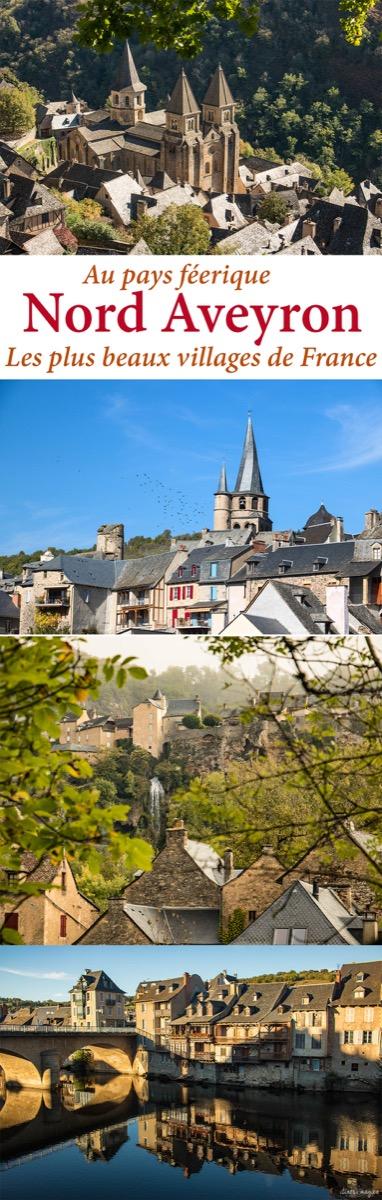 Les plus beaux villages de France sont au nord de l'Aveyron ! Découvrez #Conques, #Estaing, #Espalion.... #aveyron #occitanie #france #voyage