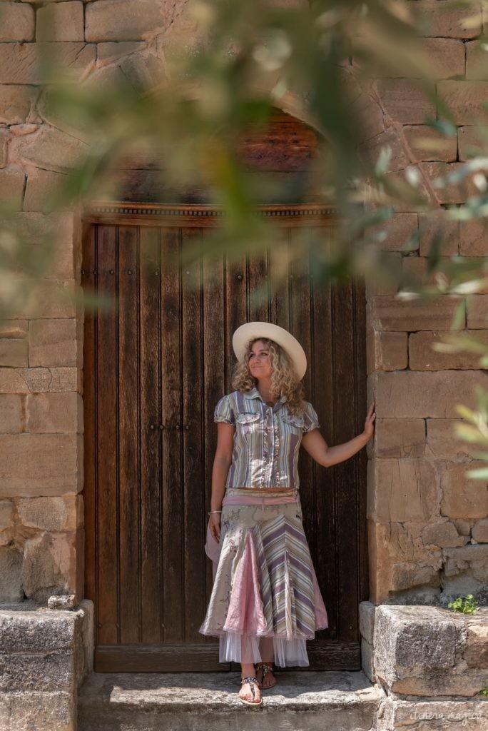 sur la route de l'olivier en baronnies provençales