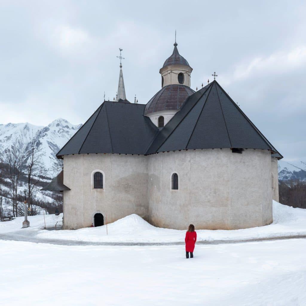 Saint Martin de Belleville chapelle Notre Dame de la vie
