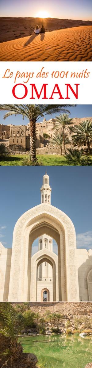 Les plus beaux paysages d'Oman : mes incontournables pour organiser votre voyage à Oman, la perle du Moyen Orient. #oman