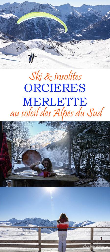 Ski et insolites au soleil des Alpes du Sud : Orcières Merlette.