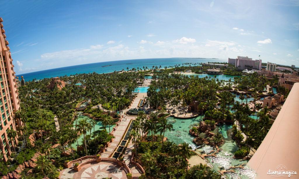 L'Atlantis à Nassau, Bahamas, ou le plus fabuleux hôtel de ma vie. Récit et conseils pour devenir une petite sirène. Atlantis bahamas blog