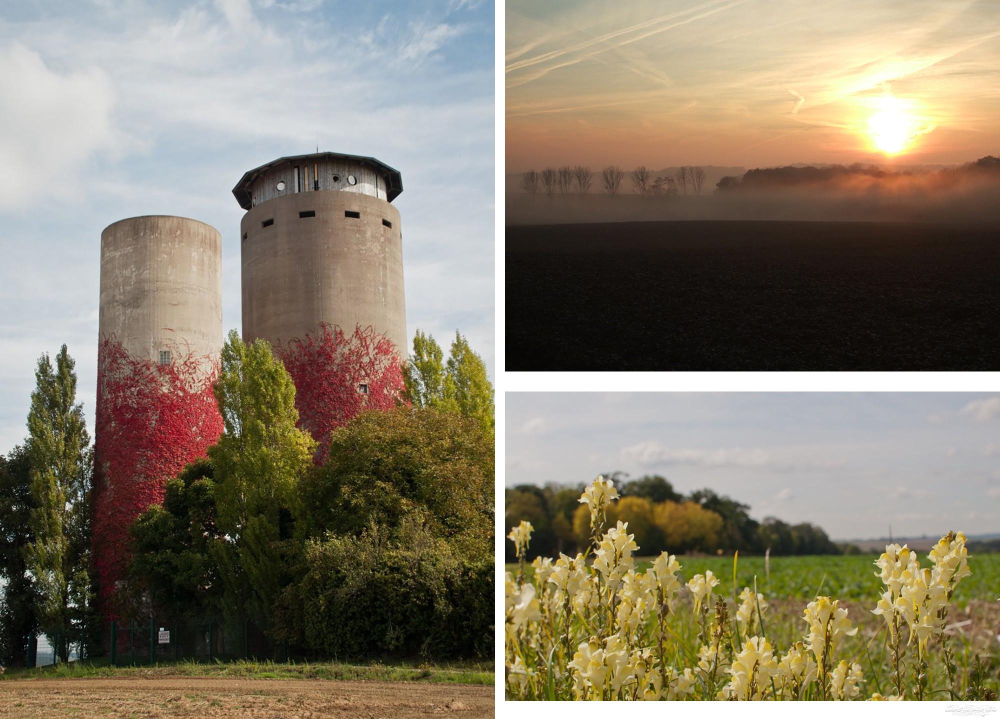 Parc naturel régional du Vexin à l'automne