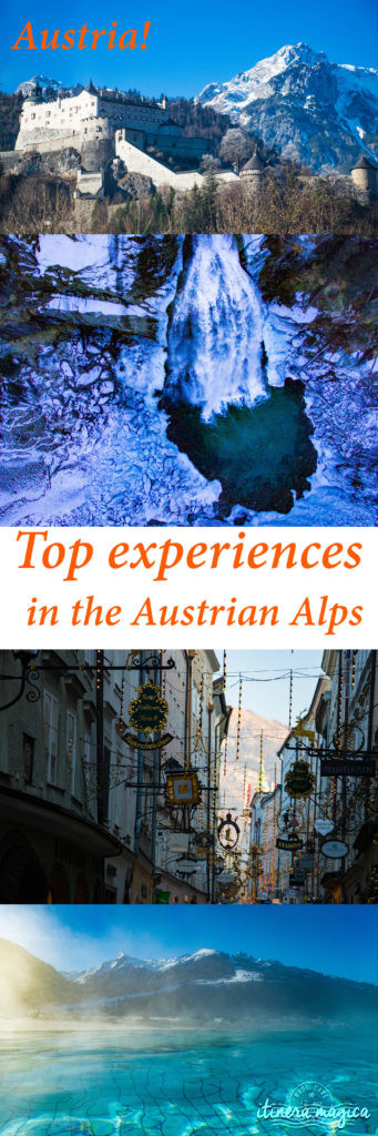 Perfect winter trip in the Austrian alps. Top experiences in Austria.