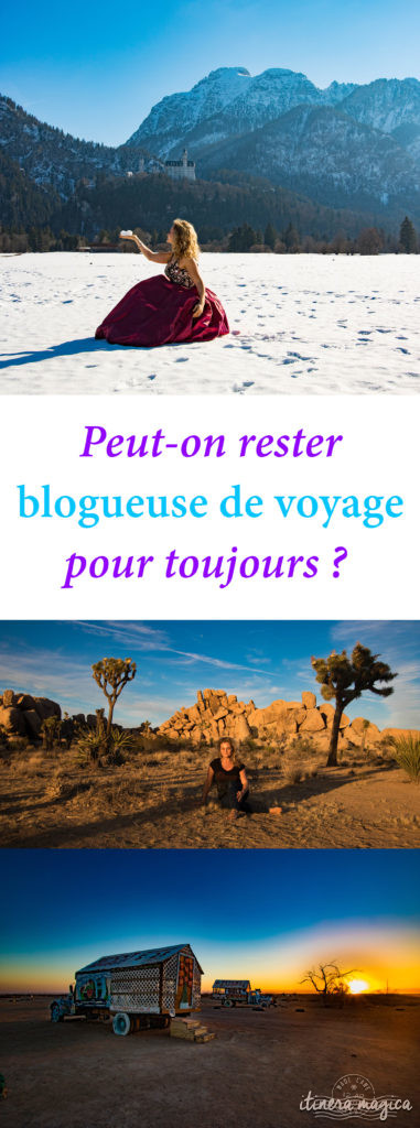 Peut-on rester blogueuse de voyage toute sa vie ? Mon parcours et mes réflexions aujourd'hui.