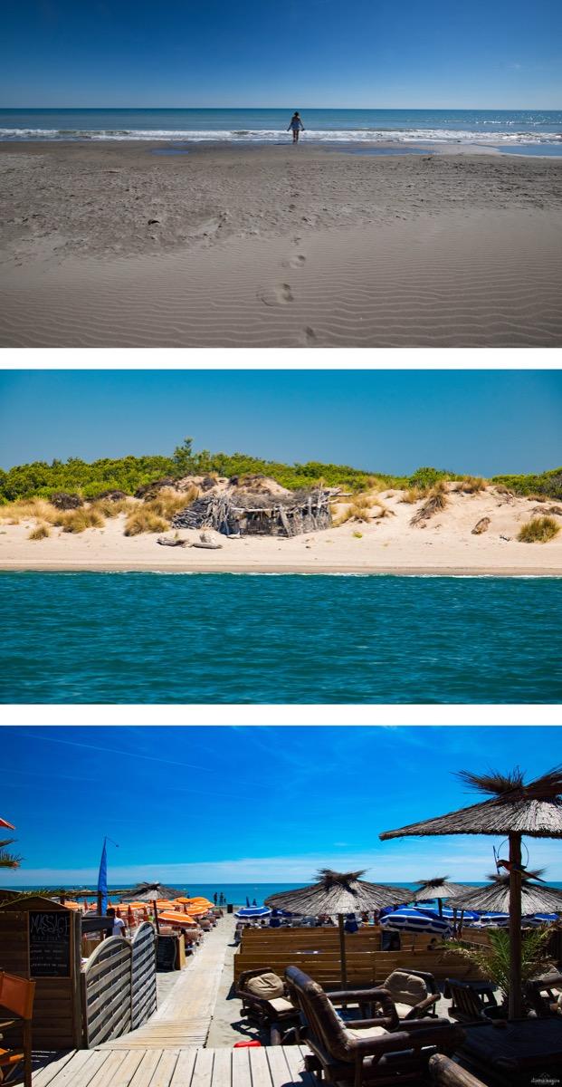 Plus belles plages des saintes maries de la mer plage est grand radeau itinera magica - Plage la plus proche de salon de provence ...