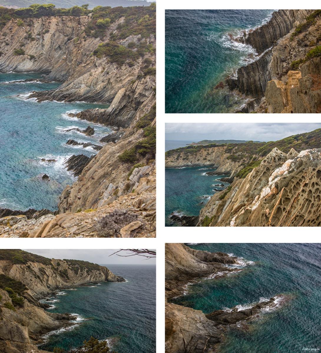 La plage du sud et la route des crêtes, Port Cros