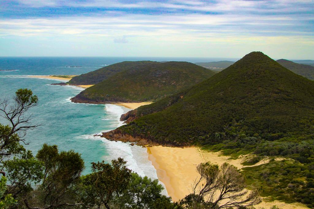 port stephens gold coast australie plage paradis robinson