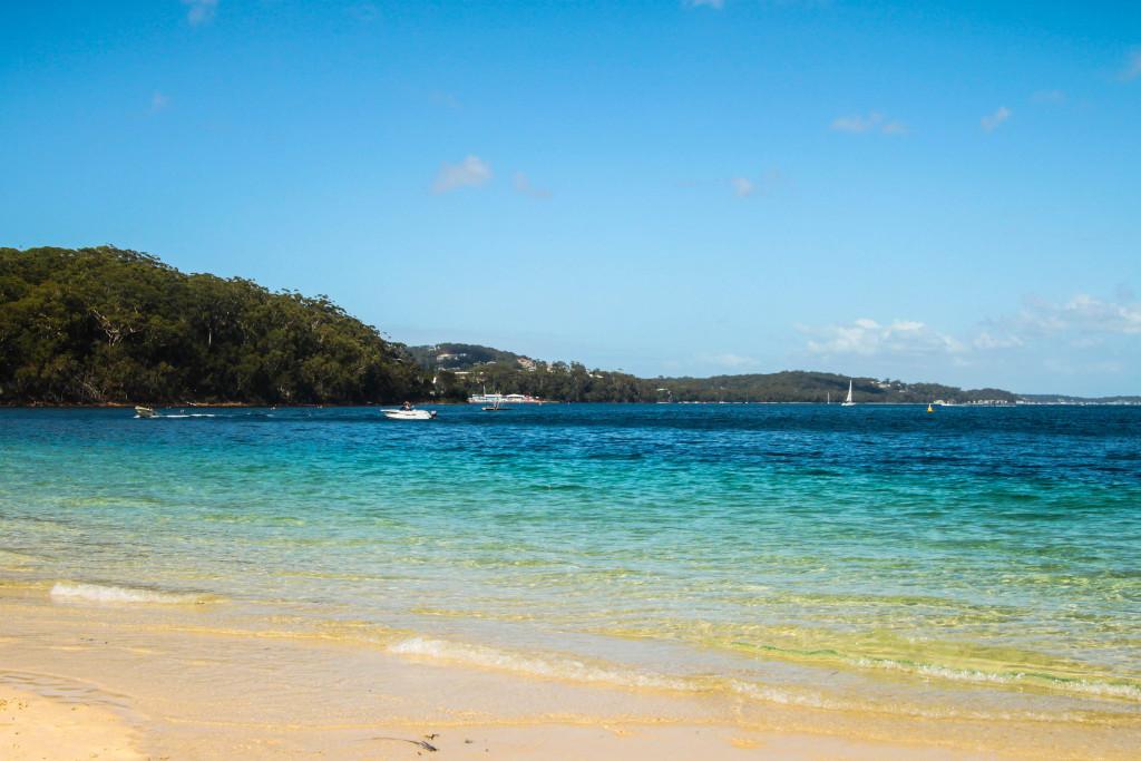 Port Stephens gold coast australie plage beach
