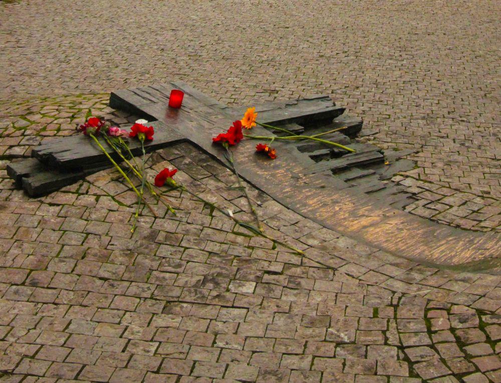 prague jan palach memorial