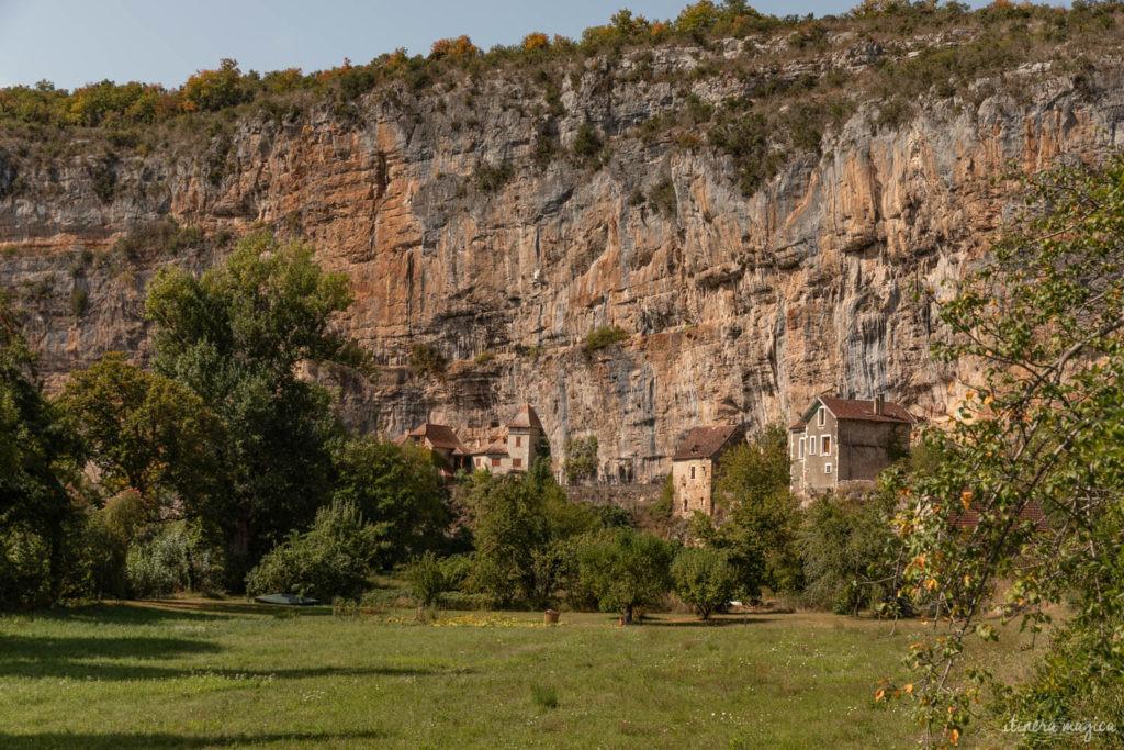 Visiter le Lot : vallée du Célé