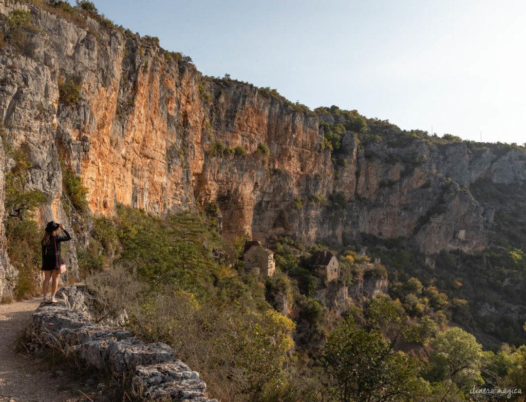 Vallée du célé chemin du vieux sauliac