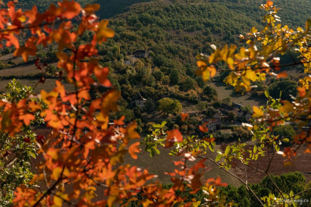 visiter le Lot : la vallée du Célé