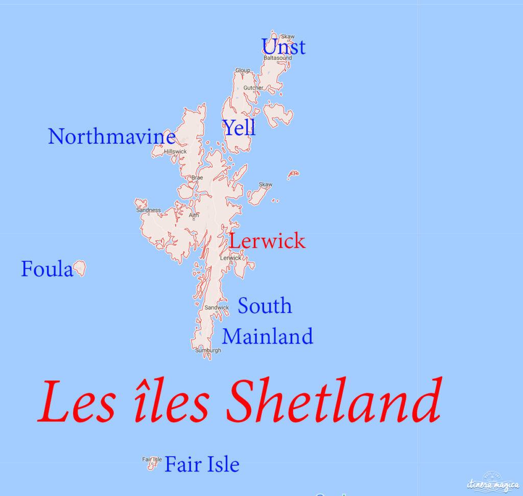 Aller à Shetland. Voyage à Shetland