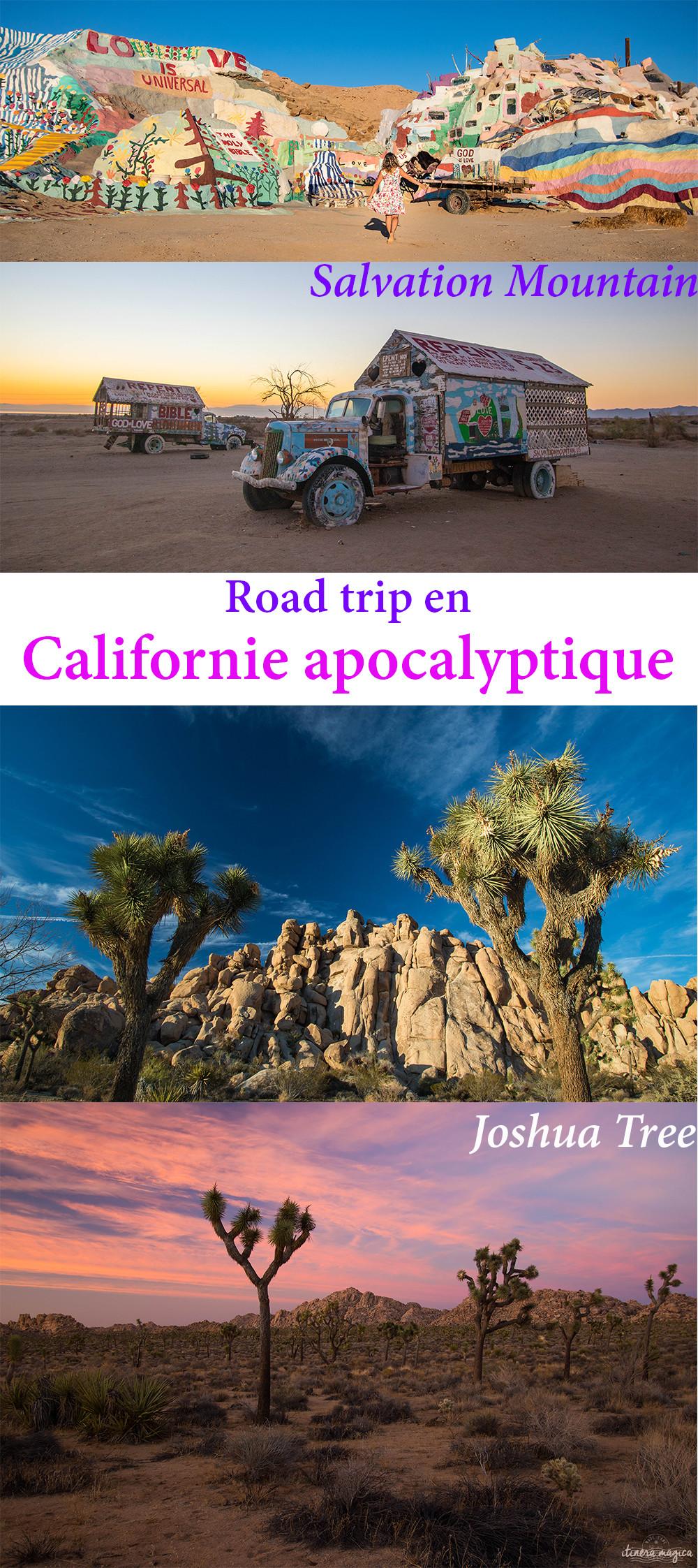 Salvation Mountain, Salton Sea, Joshua Tree : road trip en Californie apocalyptique. #californie #salvationmountain #usa #saltonsea #joshuatree