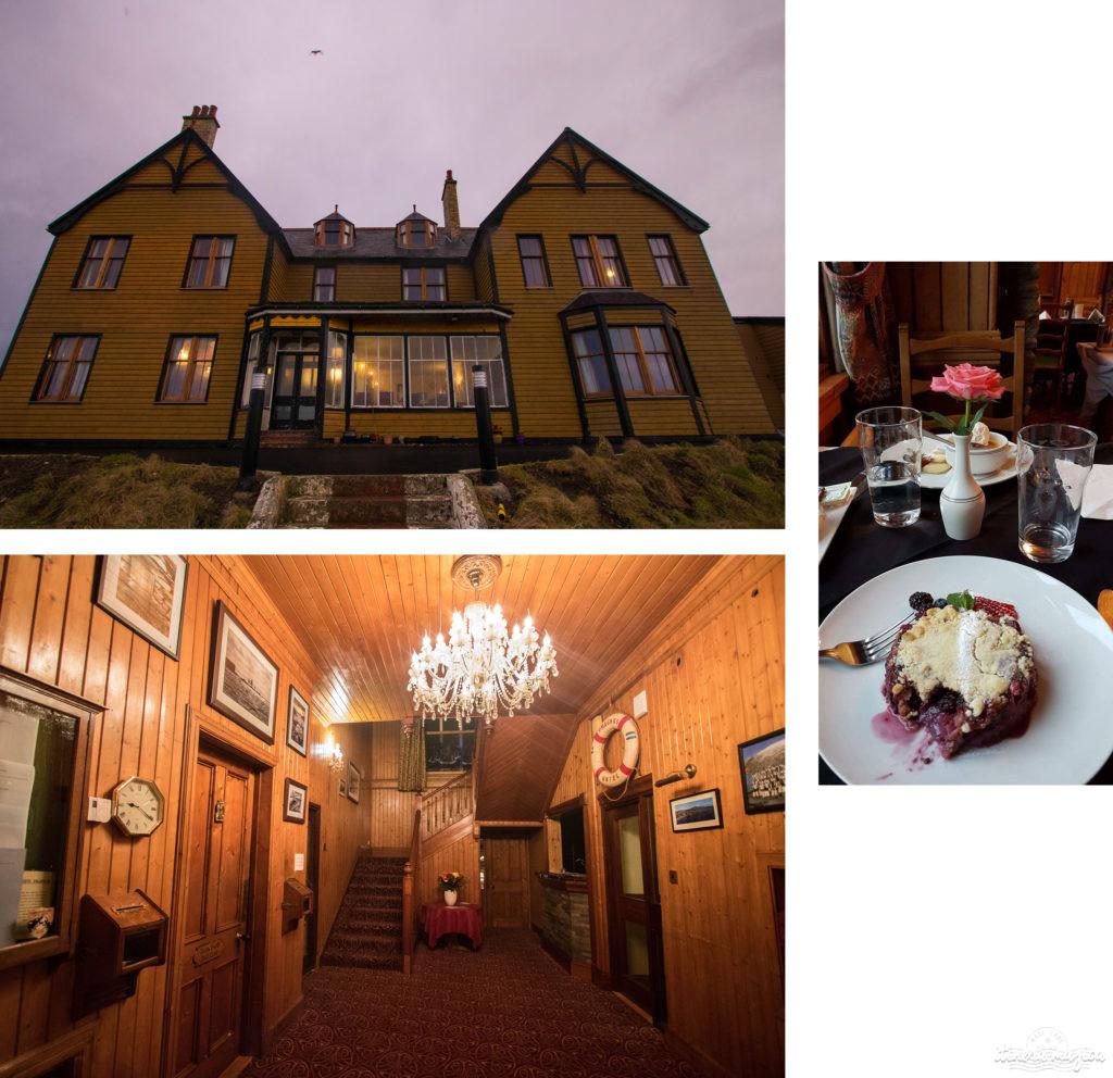 où dormir à shetland ? hôtel saint magnus