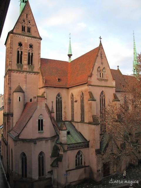 Die protestantische Kirche Saint Pierre le jeune. Quelle hier.