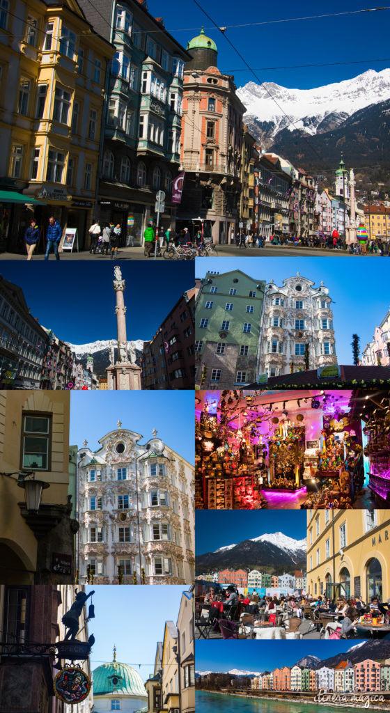 Innsbruck, Austria. Itinéraire romantique en Autriche : un voyage de rêve entre Salzbourg, Innsbruck, le château Hohenwerfen, les cascades de Krimml et un hôtel spa romantique.
