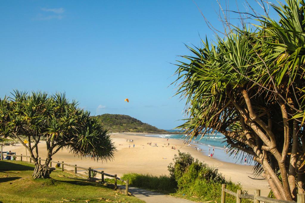shelly beach gold coast australie plage beach