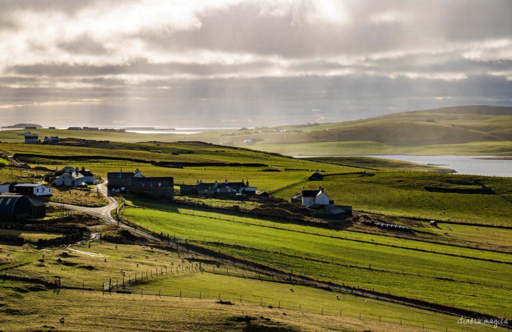 shetland îles du nord