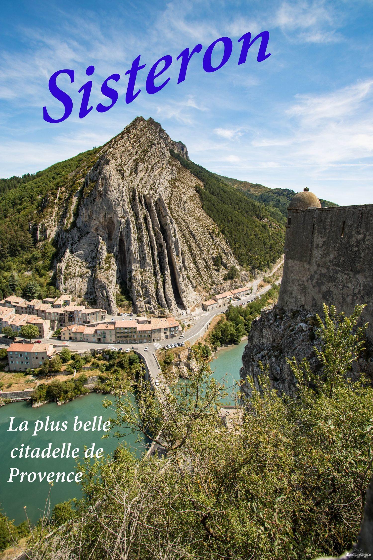 Découvrez Sisteron, sa citadelle mythique, ses deux rivières, au coeur des Baronnies provençales. #provence #sisteron