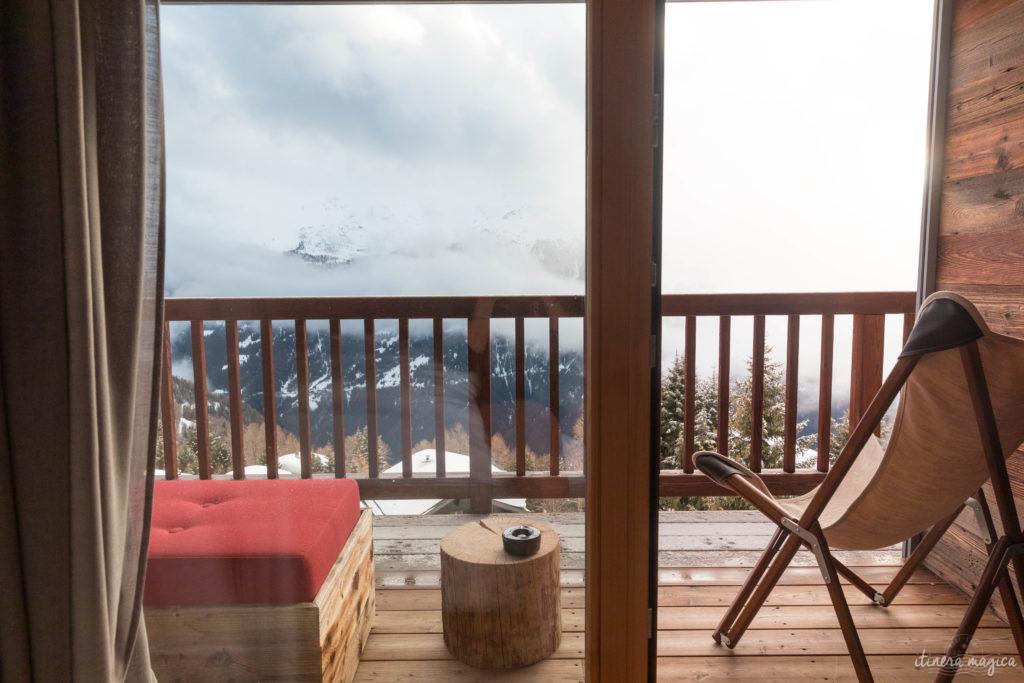 Suisse en hiver val d'anniviers