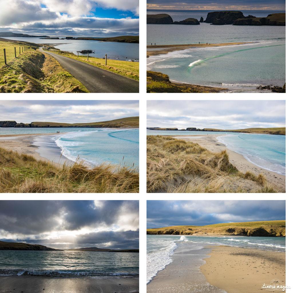 Plus belle plage de Shetland : St Ninian's Isle