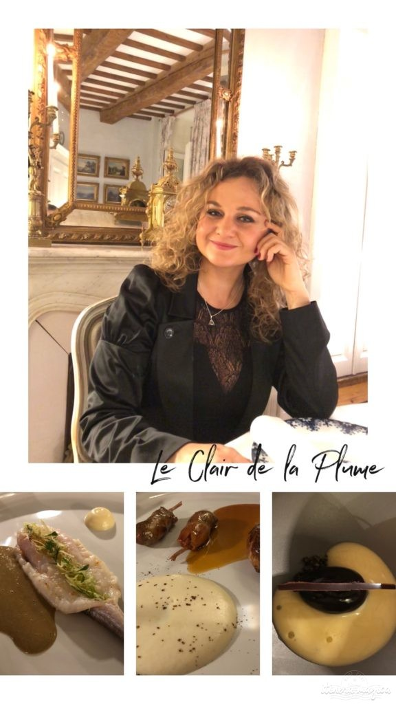 restaurant menu truffe drôme