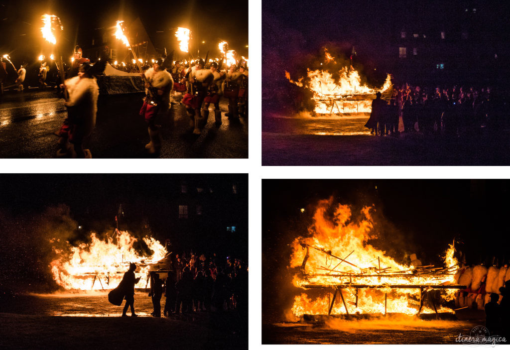 Procession Up helly aa. Blog shetland