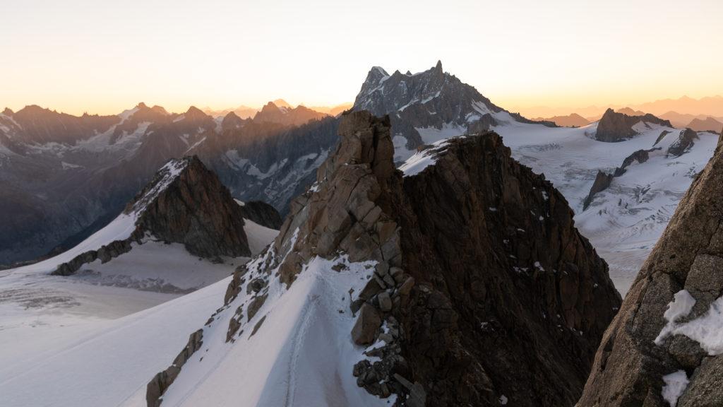 Première fois en alpinisme avec la compagnie des guides de Chamonix