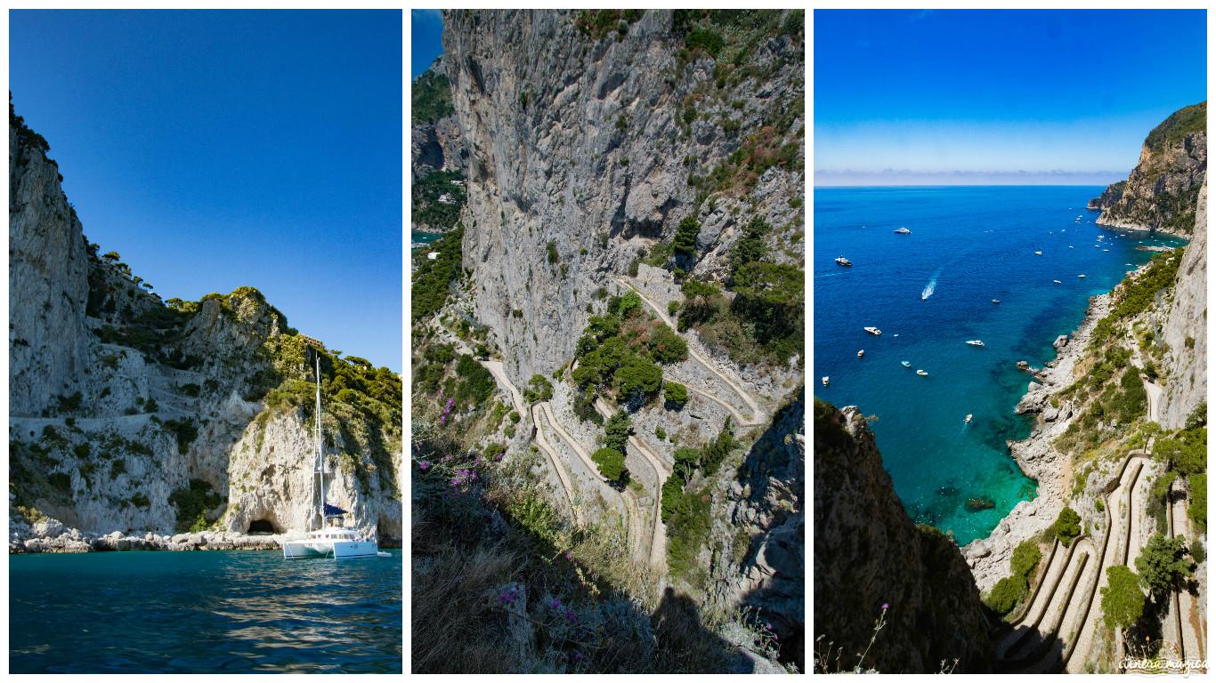 Naples To Capri >> via krupp capri - Itinera Magica