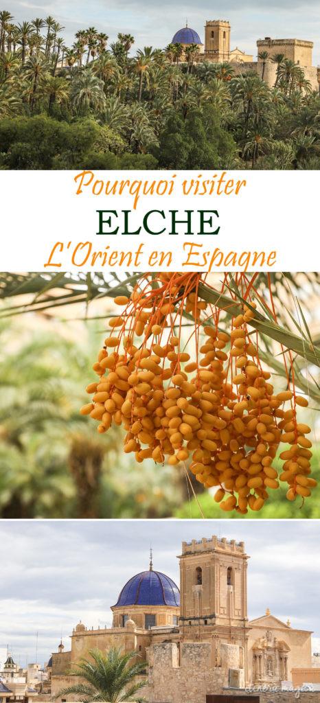 Visiter Elche, ou l'Orient en Espagne : la plus grande palmeraie d'Europe, une ville étonnante et superbe. #elche #alicante #espagne