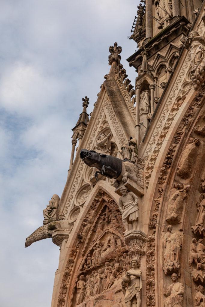 Visiter la champagne en automne ou à Noël : la cathédrale de Reims