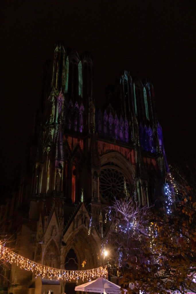 Visiter la Champagne en décembre : marché de Noël de Reims