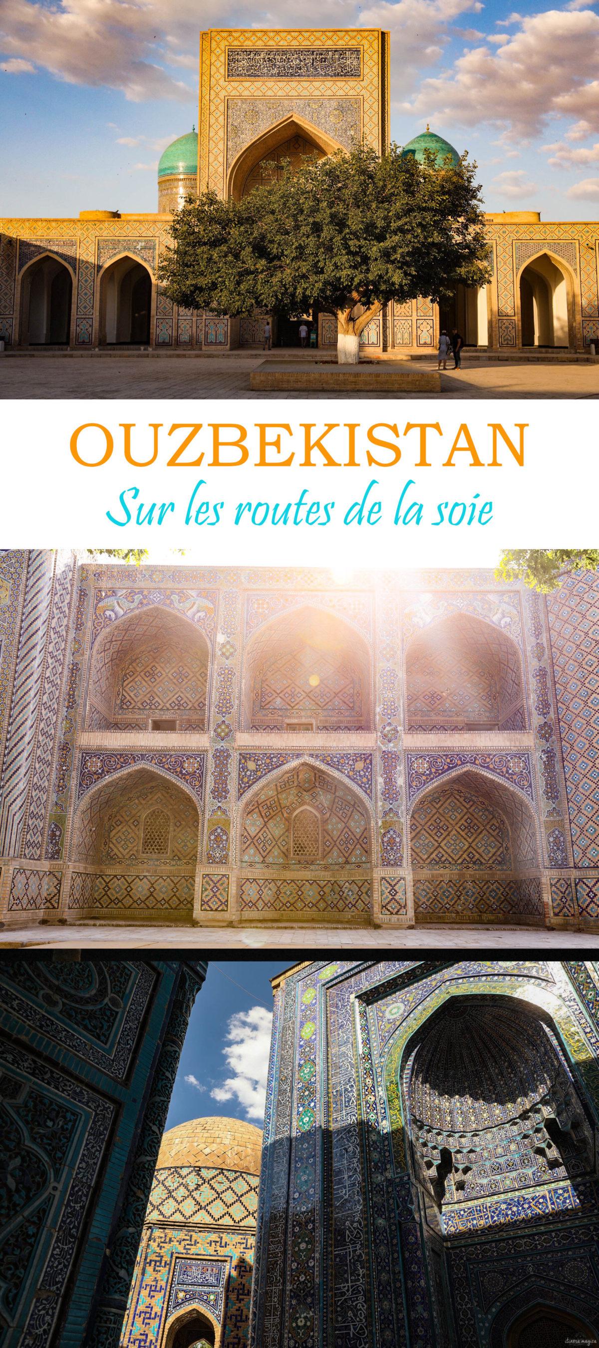 Un voyage de légende en Ouzbékistan sur les steppes de la soie, entre Samarcande, Boukhara, la steppe et les montagnes. #ouzbekistan