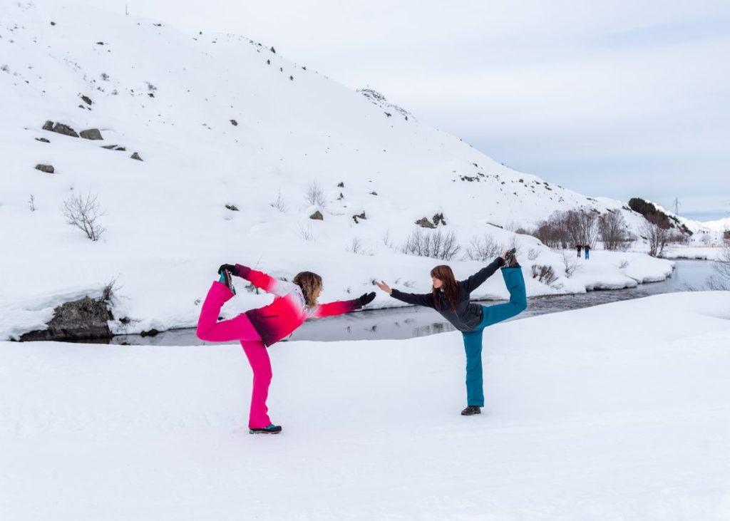yoga des neiges les belleville